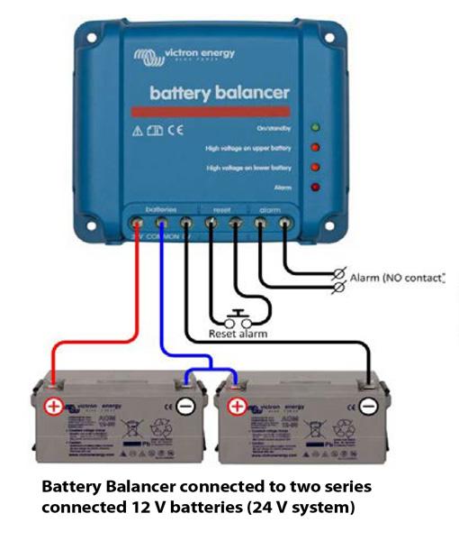 enserve energy victron battery balancer. Black Bedroom Furniture Sets. Home Design Ideas
